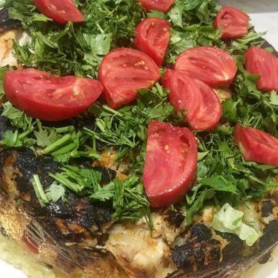 Плов с красной фасолью и овощами - рецепт с фото