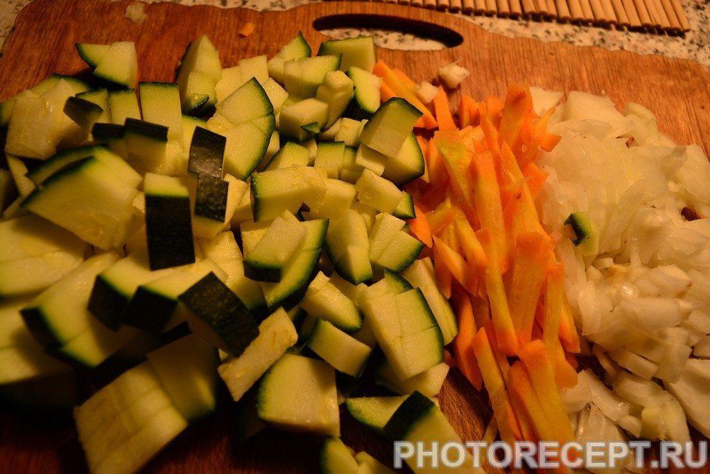 Фото рецепта - Макароны с овощами - шаг 1