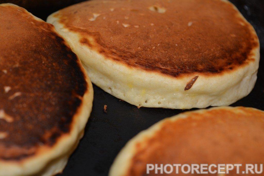 Фото рецепта - Американские панкейки - шаг 5