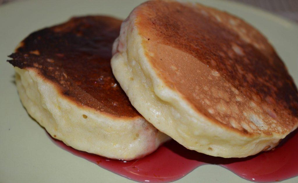 Фото рецепта - Американские панкейки - шаг 6