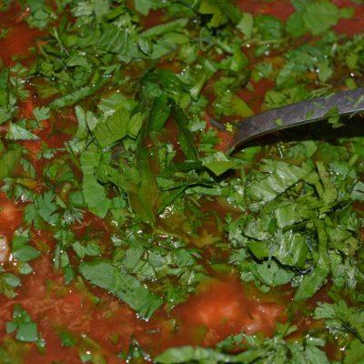 Фото рецепта - Холодная закуска из кабачков в томате - шаг 5