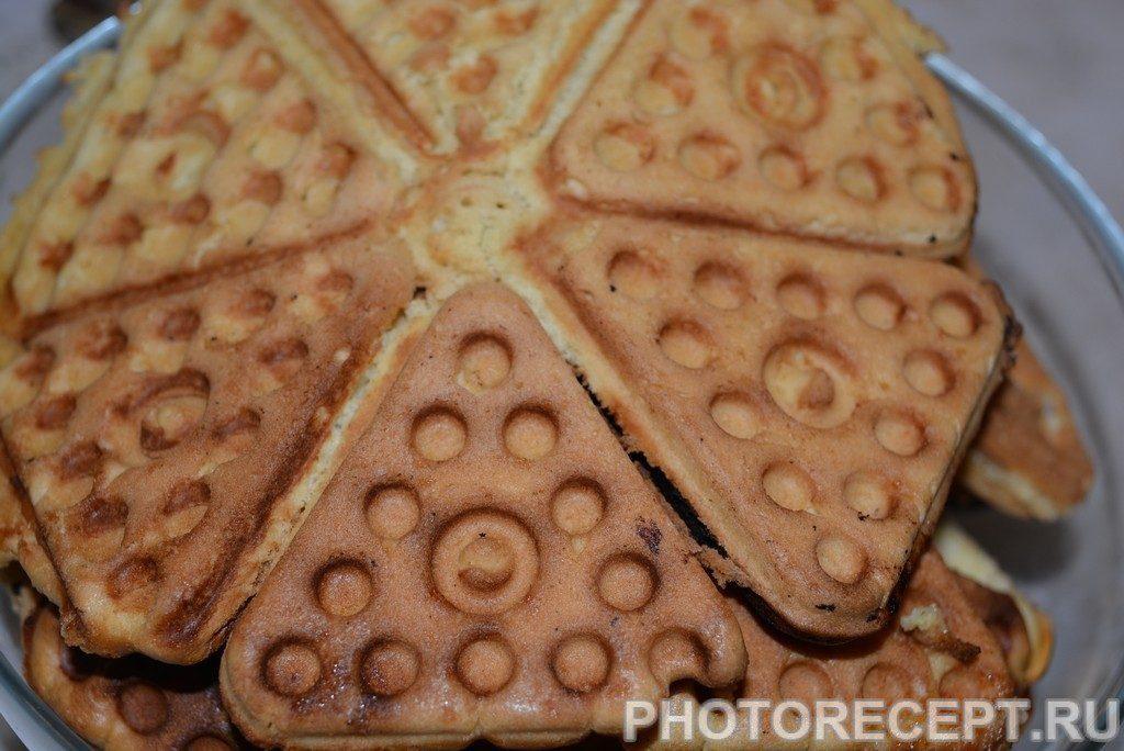 """Фото рецепта - Печенье """"Треугольники"""" в форме - шаг 9"""