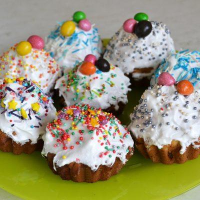 Пасхальные кексы - рецепт с фото