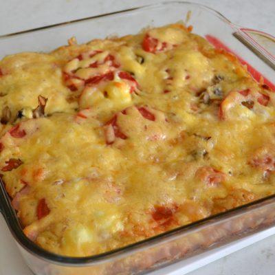 Пицца на кефире - рецепт с фото