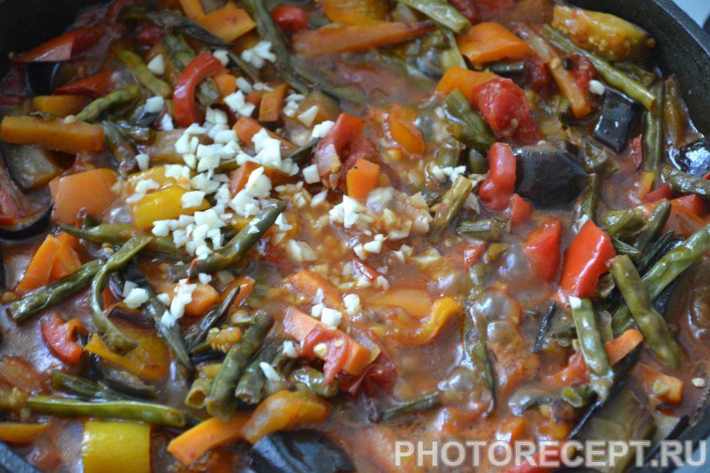 Фото рецепта - Спаржа с овощами - шаг 9