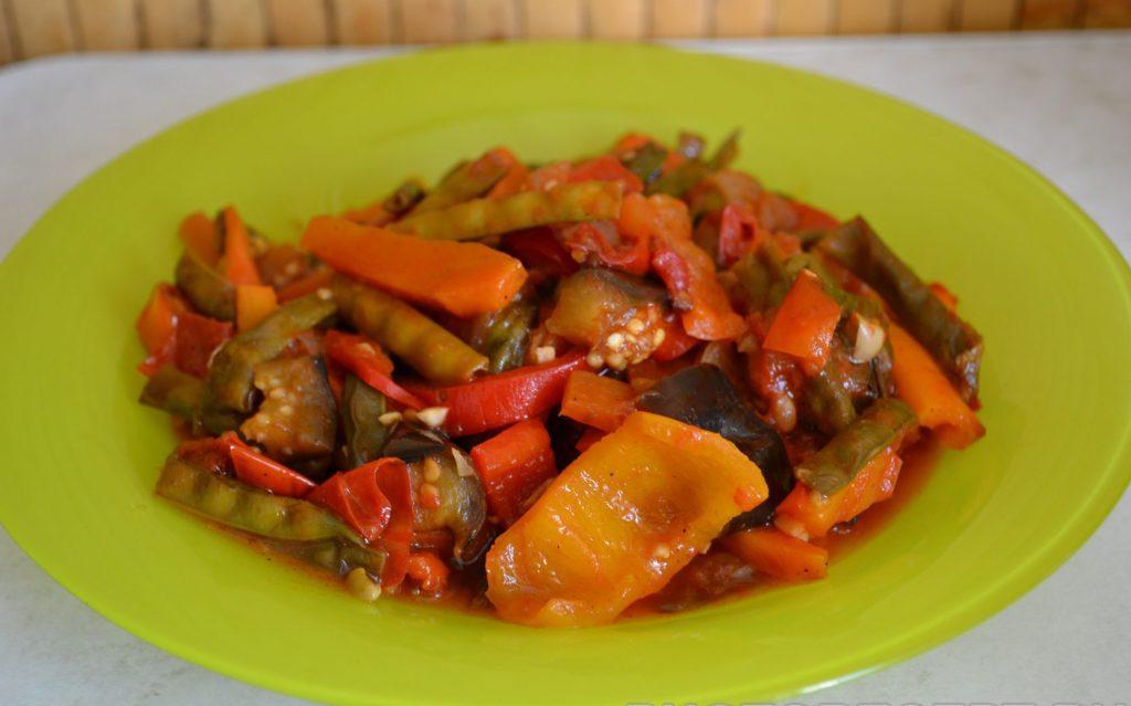 Фото рецепта - Спаржа с овощами - шаг 10