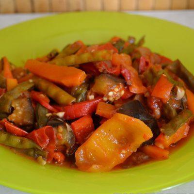 Спаржа с овощами - рецепт с фото