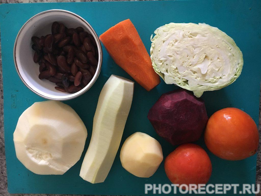 Фото рецепта - Овощное рагу - шаг 1