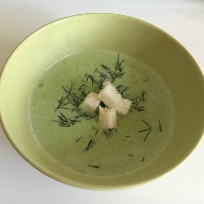 Крем-суп из зеленого горошка - рецепт с фото