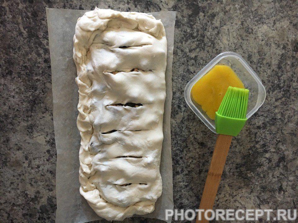 Фото рецепта - Яблочный штрудель - шаг 6