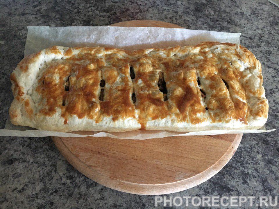 Фото рецепта - Яблочный штрудель - шаг 8