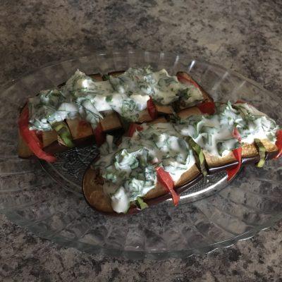 Фаршированный баклажан - рецепт с фото