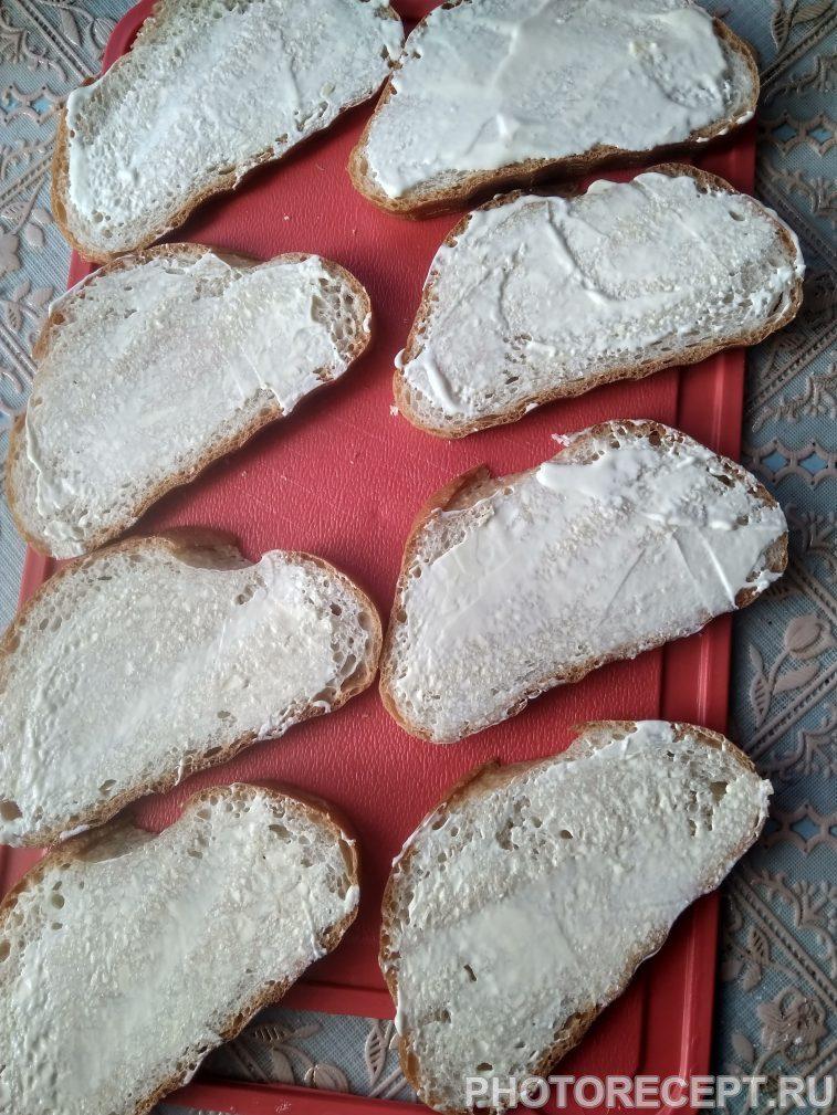 Фото рецепта - Сытные горячие бутерброды к обеду - шаг 3