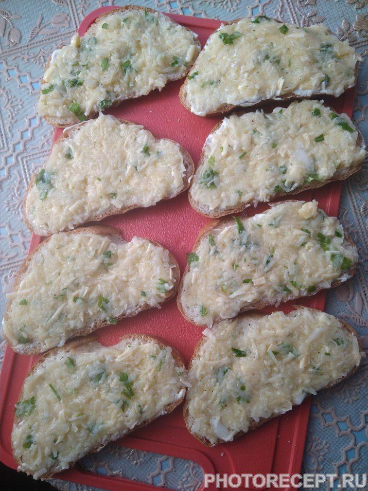 Фото рецепта - Сытные горячие бутерброды к обеду - шаг 4