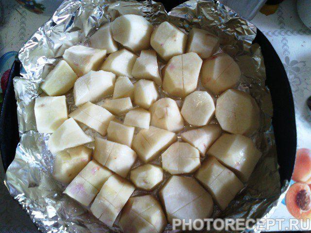 Фото рецепта - Картофель запеченный в духовке - шаг 3