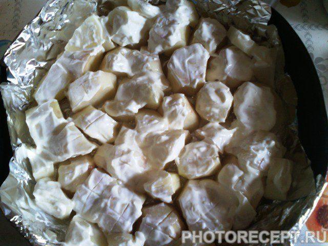 Фото рецепта - Картофель запеченный в духовке - шаг 5