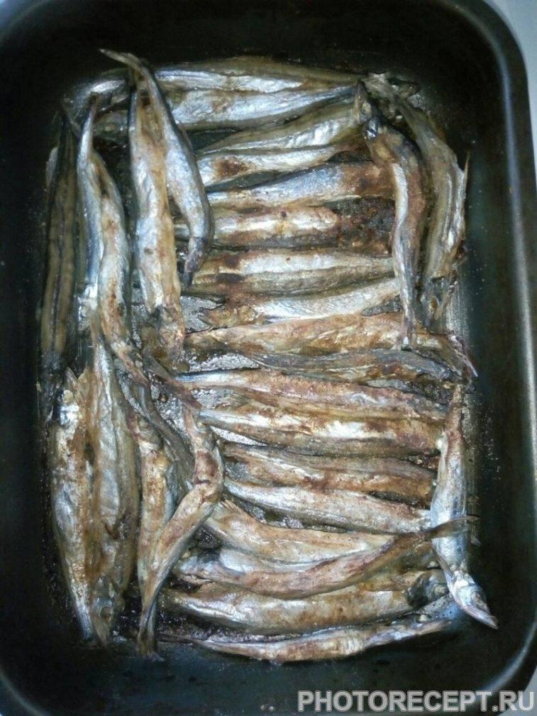 Фото рецепта - Мойва запеченная в духовке - шаг 4