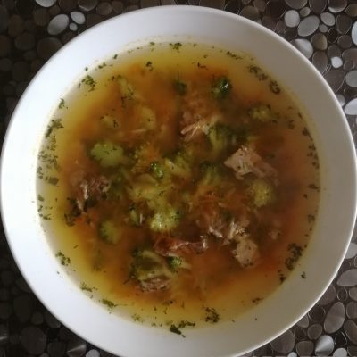 Суп из брокколи - рецепт с фото