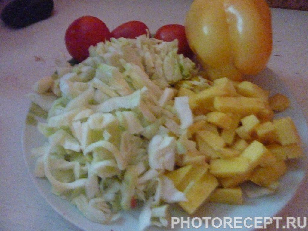 Фото рецепта - Борщ с пампушками - шаг 4