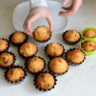 Фото рецепта - Пасхальные кексы - шаг 10