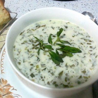 Довга бакинская – холодный суп - рецепт с фото
