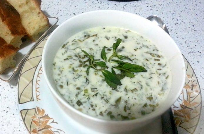Довга бакинская – холодный суп