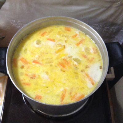 Фото рецепта - Сливочный суп - шаг 4