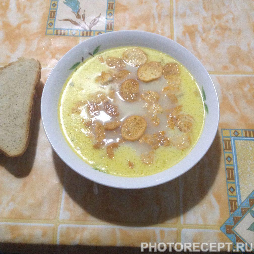 Фото рецепта - Сливочный суп - шаг 5