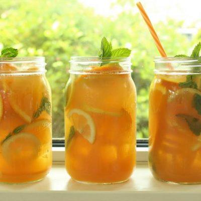 Летний напиток из цитрусов - рецепт с фото