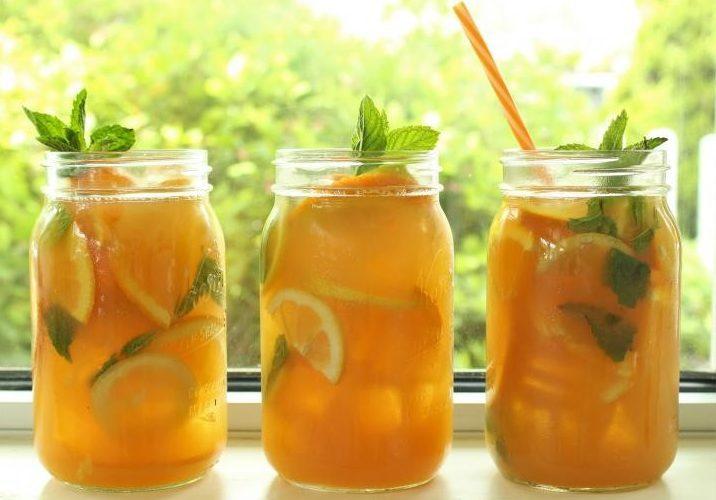 Летний напиток из цитрусов