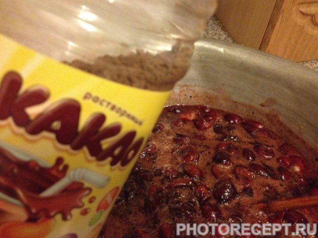 Фото рецепта - Шоколадное варенье из слив - шаг 3