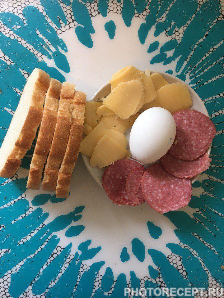 Фото рецепта - Простые и вкусные горячие бутерброды - шаг 1