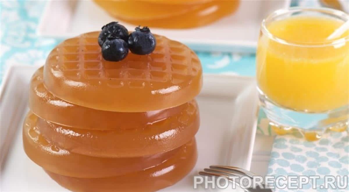 Яблочно-ванильный мармелад для детского меню