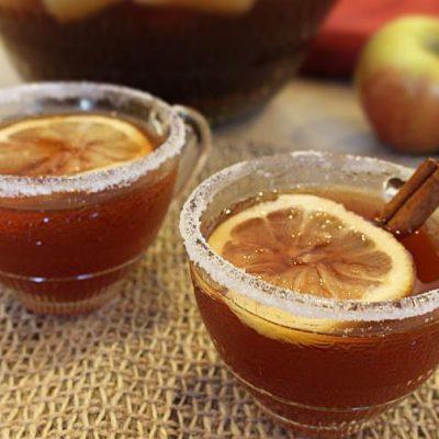 Яблочный пунш Вассейл - рецепт с фото