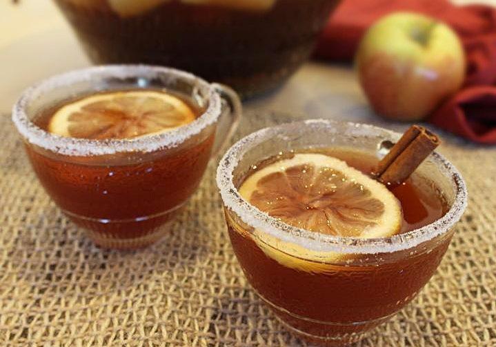 Яблочный пунш Вассейл