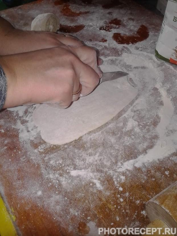 Фото рецепта - Сосиски в тесте - шаг 2