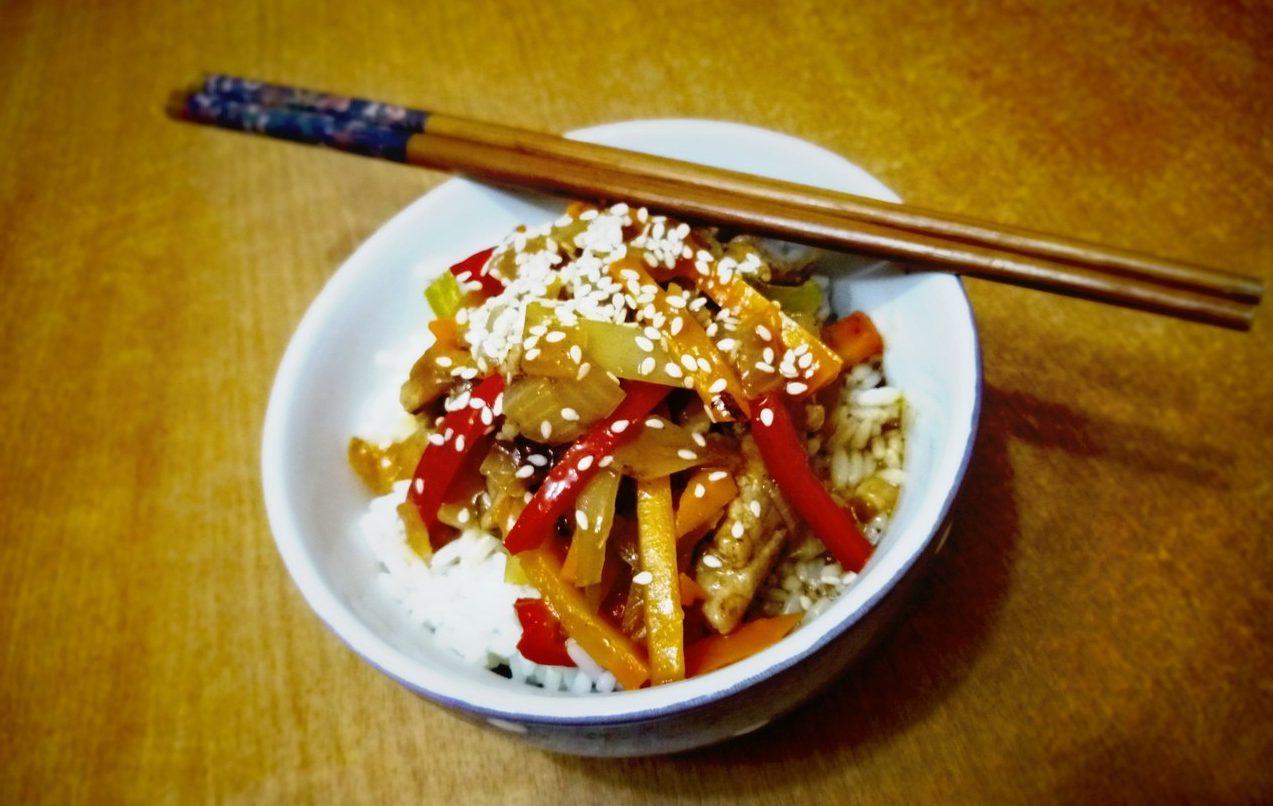 Гулу Жоу – свинина в кисло-сладком соусе