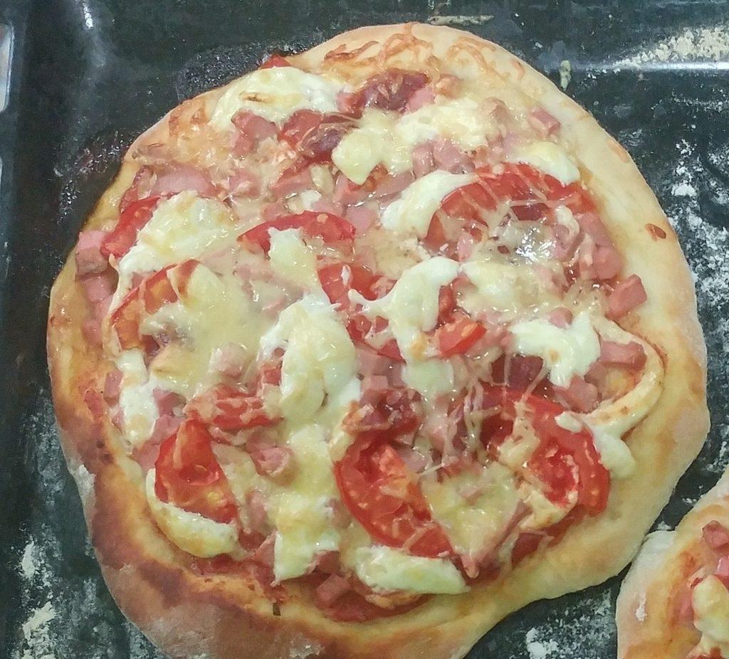 Фото рецепта - Студенческая пицца - шаг 7