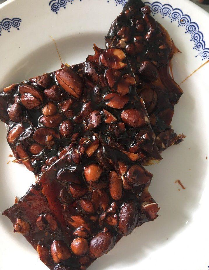 Грильяжные конфеты с арахисом