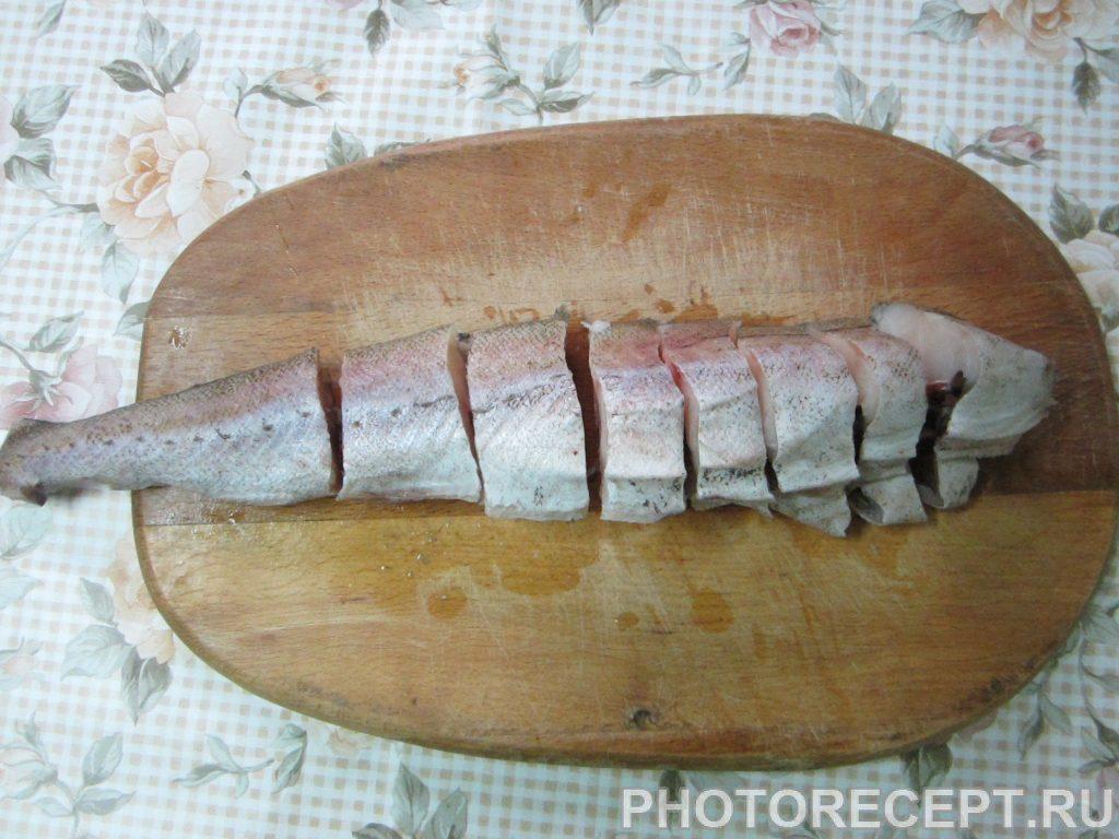 Фото рецепта - Печеная рыба в собственном соку - шаг 1