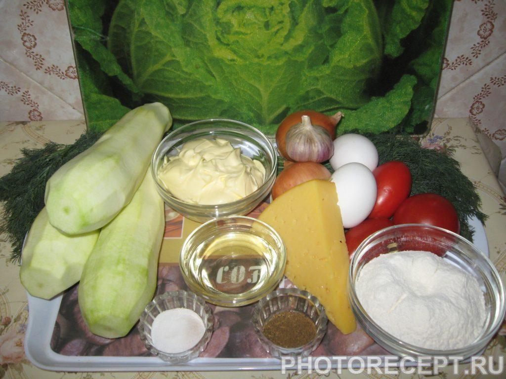 Фото рецепта - Торт из кабачков - шаг 1