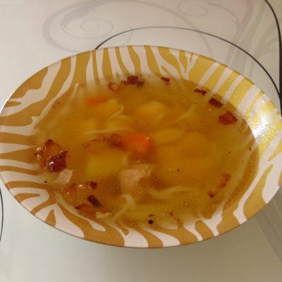 Суп куриный от холостяка - рецепт с фото
