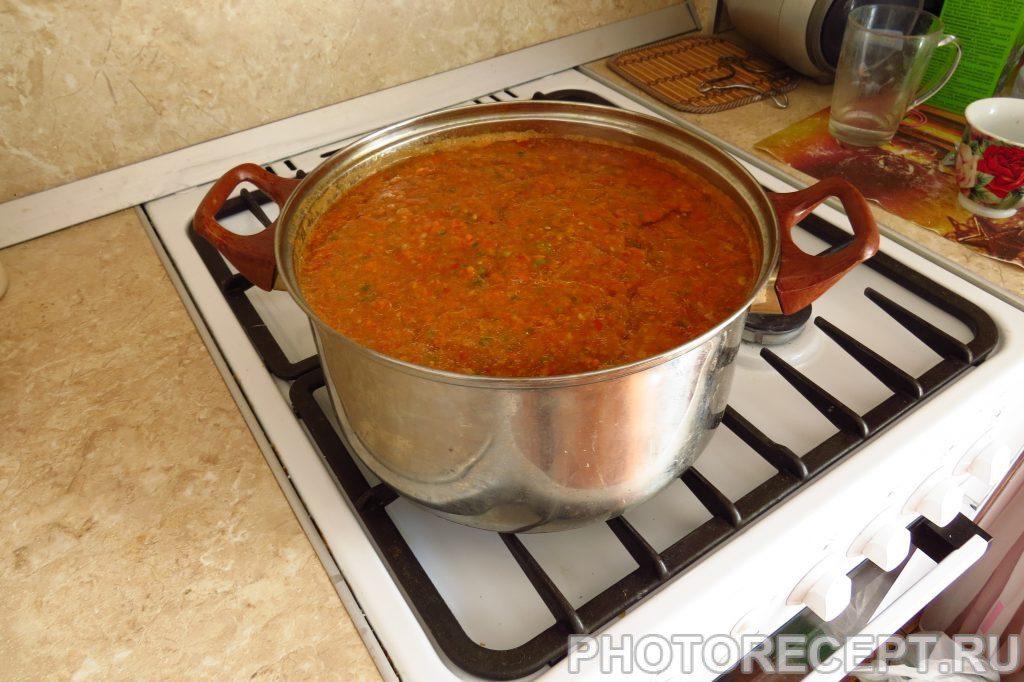 Фото рецепта - Аджика от холостяка - шаг 5
