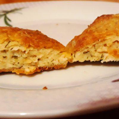 Фото рецепта - Рыбные котлеты с плавленым сыром, запеченные в духовке - шаг 9