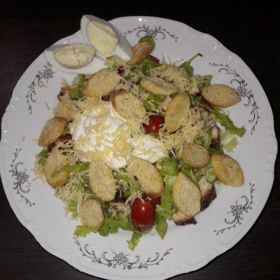 "Салат ""Цезарь"" по-домашнему - рецепт с фото"
