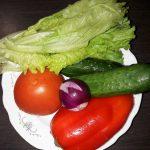 Фото рецепта - Греческий салат домашний - шаг 1