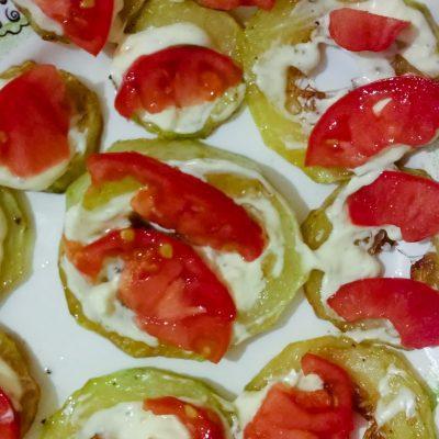 Закуска «Острые кабачки» - рецепт с фото