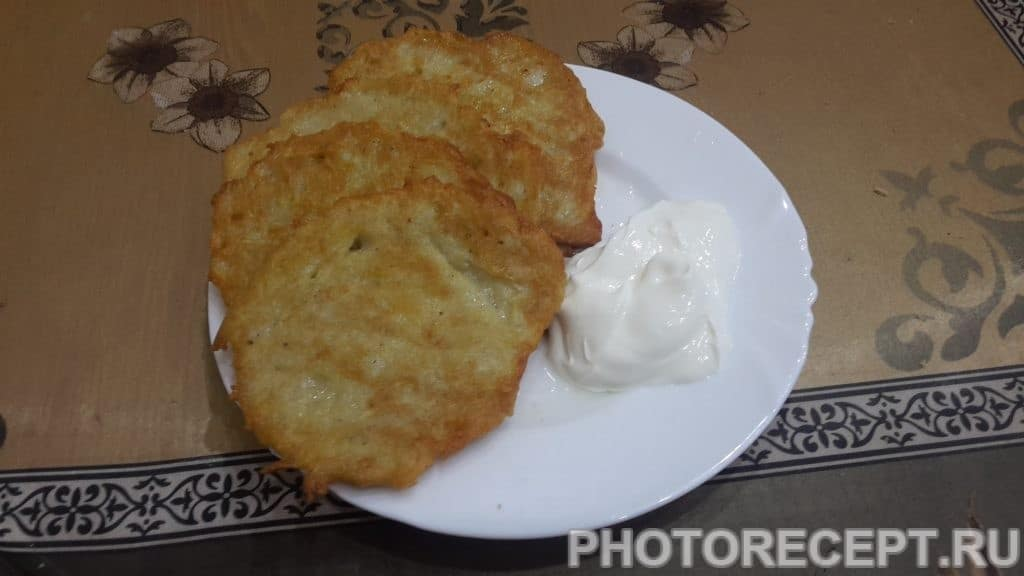 Фото рецепта - Драники - шаг 6