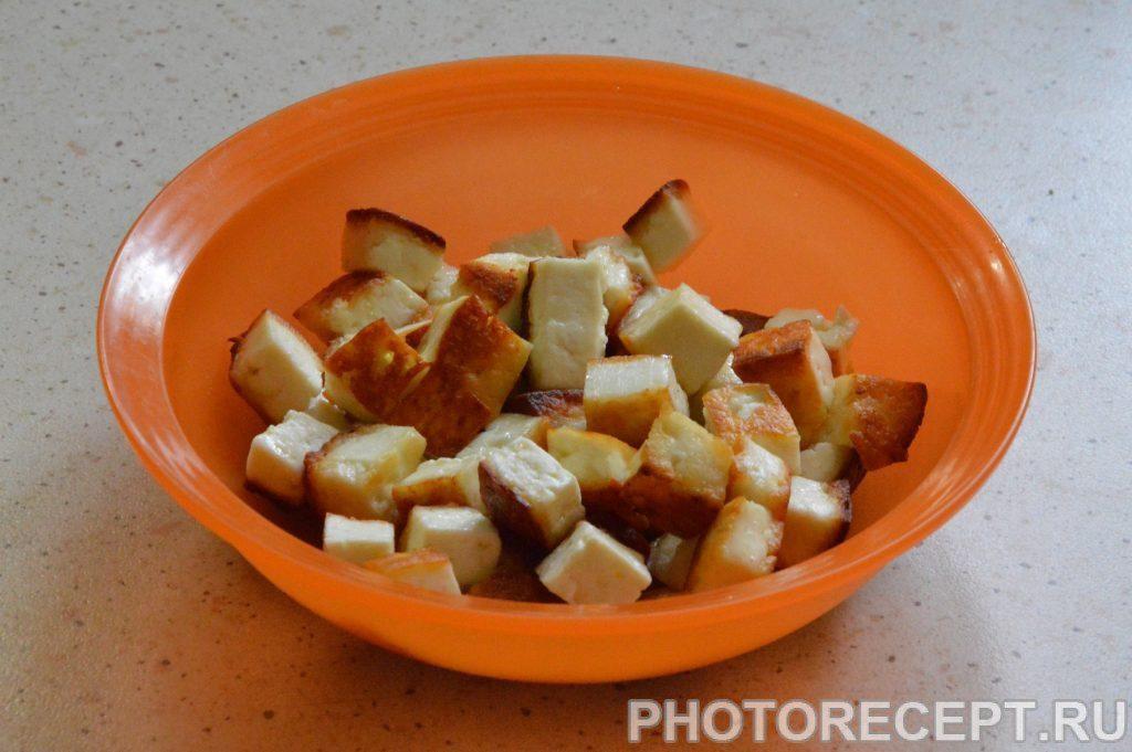 Фото рецепта - Вегетарианский плов с адыгейским сыром - шаг 3