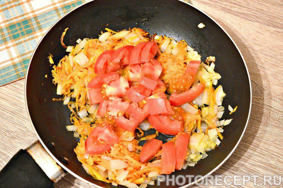 Фото рецепта - Щи со свежей капустой и курицей - шаг 4